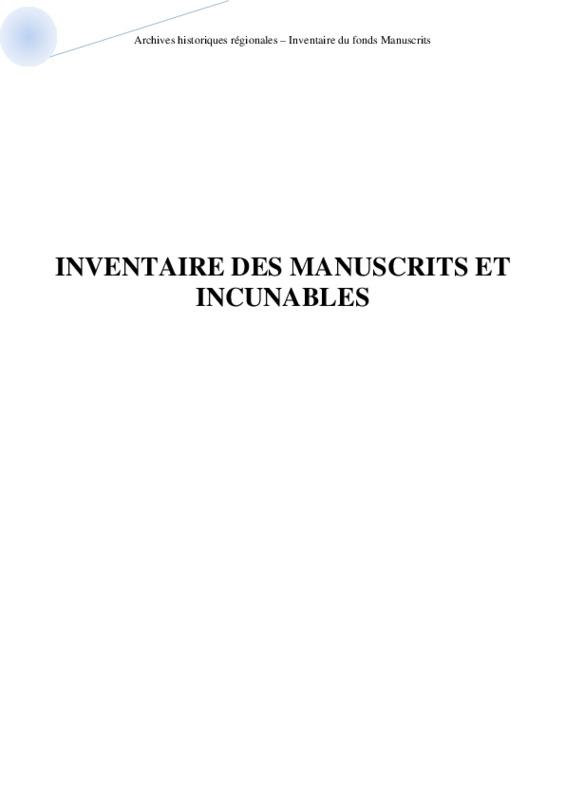 Aosta-Archives historiques régionales – Inventaire du fonds Manuscrits .pdf